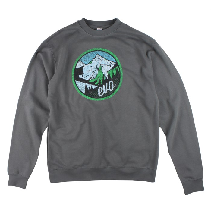 evo - Mountain Scape Crew Neck Sweatshirt