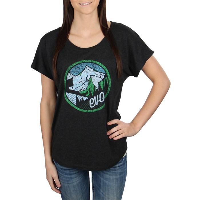 evo - Mountain Scape Dolman T-Shirt - Women's