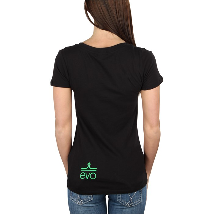 evo - Mountain Scape V-Neck T-Shirt - Women's