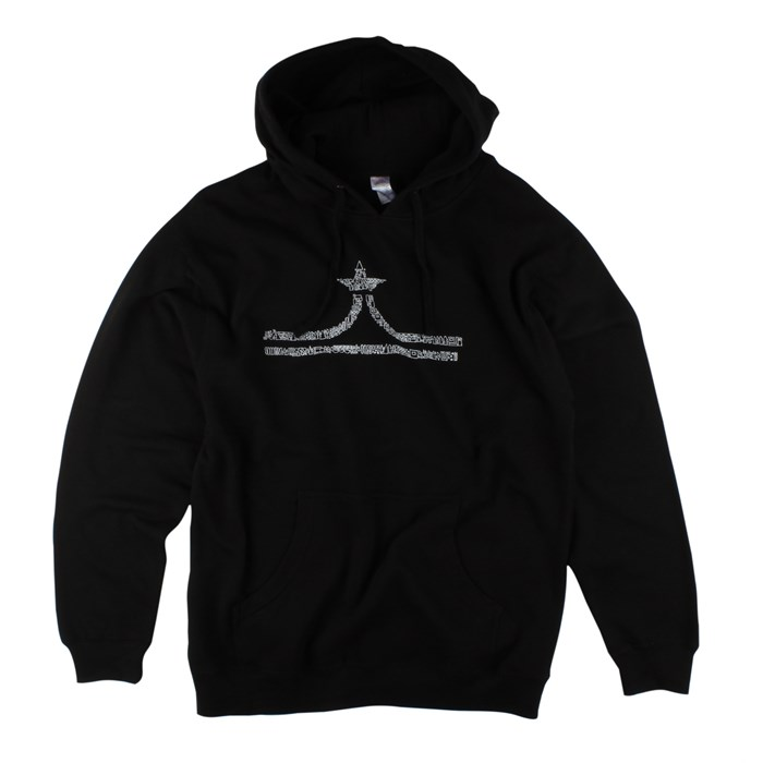 evo - Hand Drawn Crown Pullover Hoodie