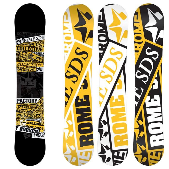 Rome - Factory Rocker Snowboard - Blem 2013