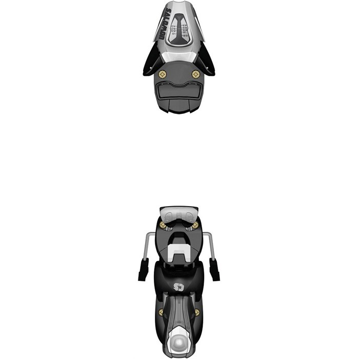 Salomon C5 Ski Bindings (85mm Brakes) - Kid's 2013