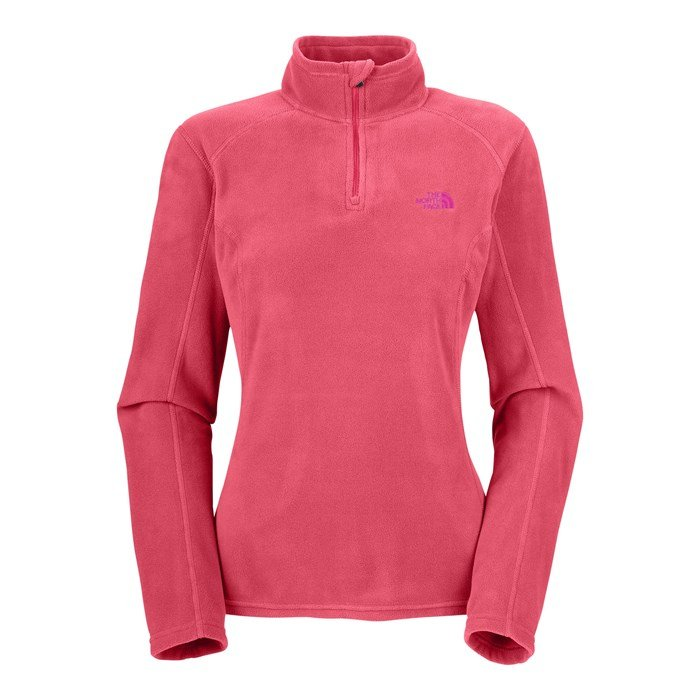 The North Face - TKA 100 Microvelour Glacier 1/4 Zip Top - Women's