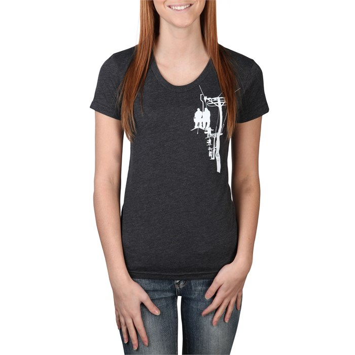 Casual Industrees - evo Chairlift Scoop Neck T-Shirt - Women's