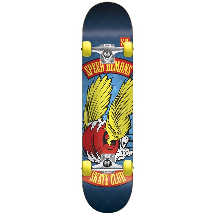 Speed Demons - Speed Demons Skate Club Dragster Complete Skateboard