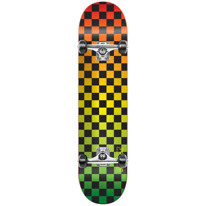 Speed Demons - Checkerboard Fade Complete Skateboard