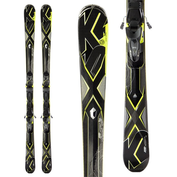 K2 - A.M.P. Charger Skis + Marker MX 12.0 Bindings 2013