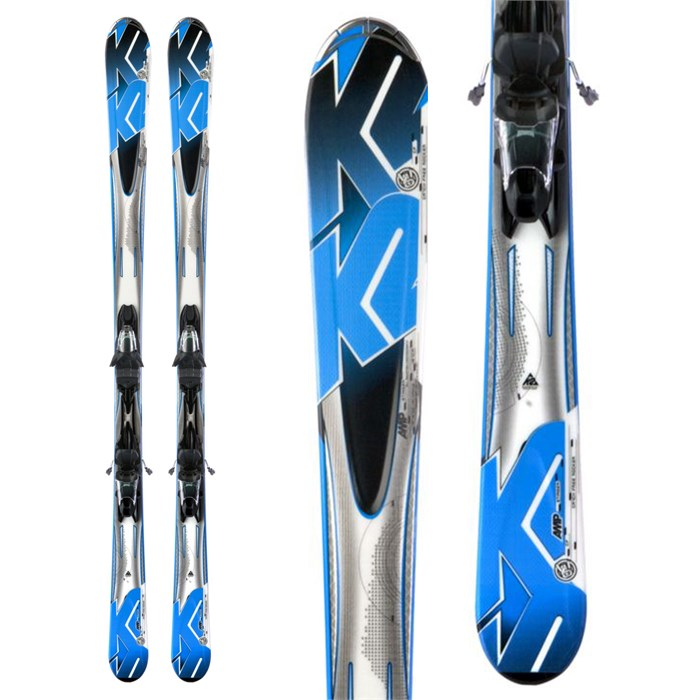 K2 - A.M.P. Stinger Skis + Marker M2 10.0 Bindings 2013