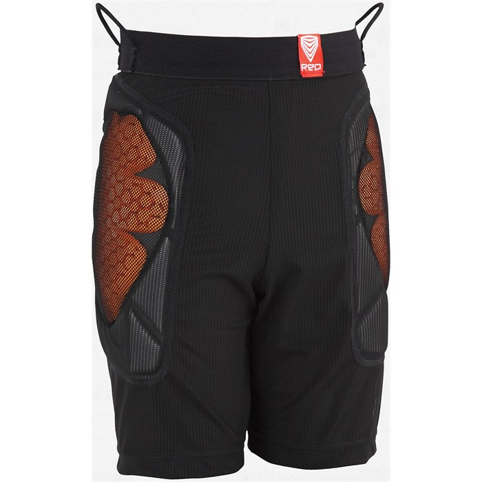 Red - Red Base Layer Shorts - Kid's