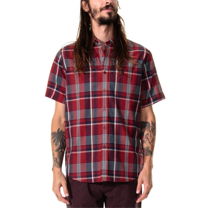 RVCA - Nettle Short Sleeve Button Down Shirt