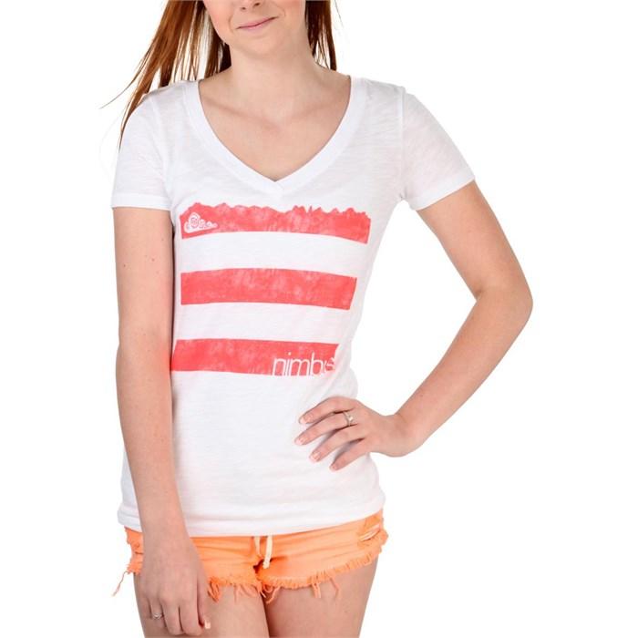 Nimbus Independent - Tres Lineas V-Neck T-Shirt - Women's