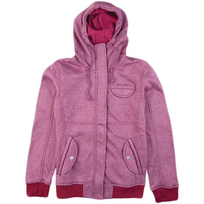 Billabong - Plush Zip Hoodie - Women's