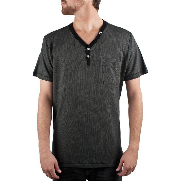 LRG - Striped Y-Neck T-Shirt