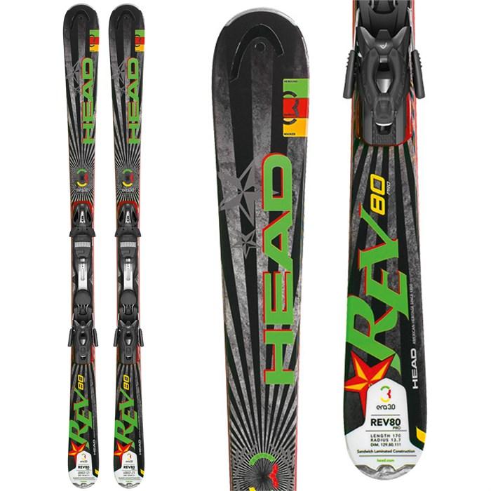 Head - REV 80 Pro Skis + PR 11 Bindings 2013