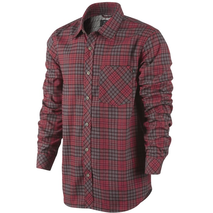 Nike - Raleigh Plaid Flannel Button Down