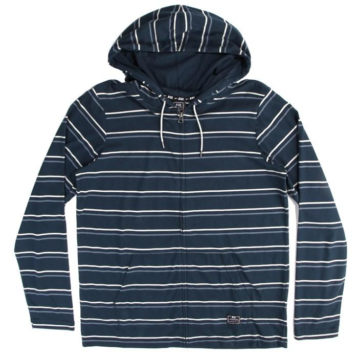 Nike - Textured Stripe Zip Hoodie