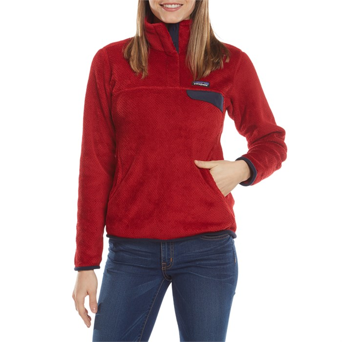 Re-Tool Snap-T Pullover in Red Patagonia 2018 Sale Online New Cheap Online Clearance Shopping Online 5kWjwSP
