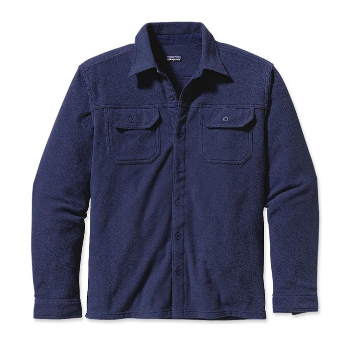 Patagonia - Pique Button-Down Fleece Shirt