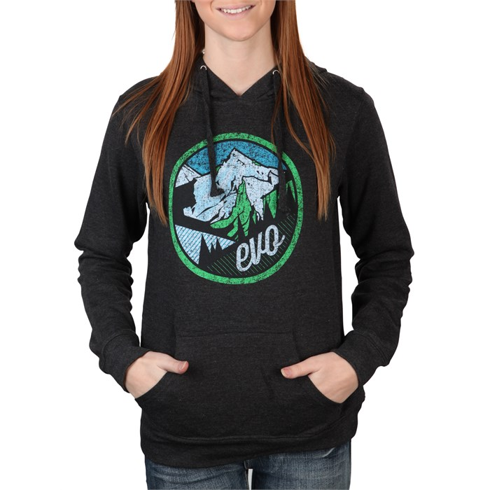 evo - Mountain Scape Pullover Hoodie - Women's