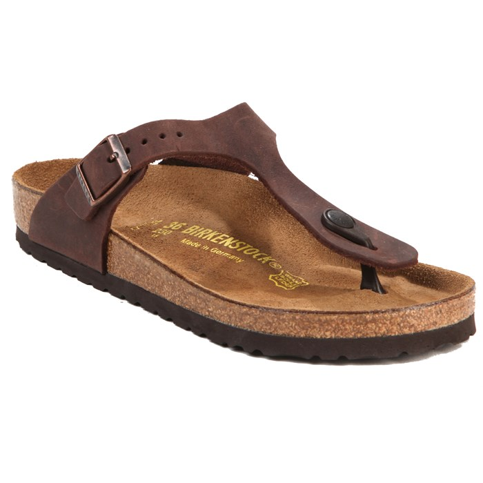 Birkenstock - Gizeh Oiled Leather Sandal - Women's
