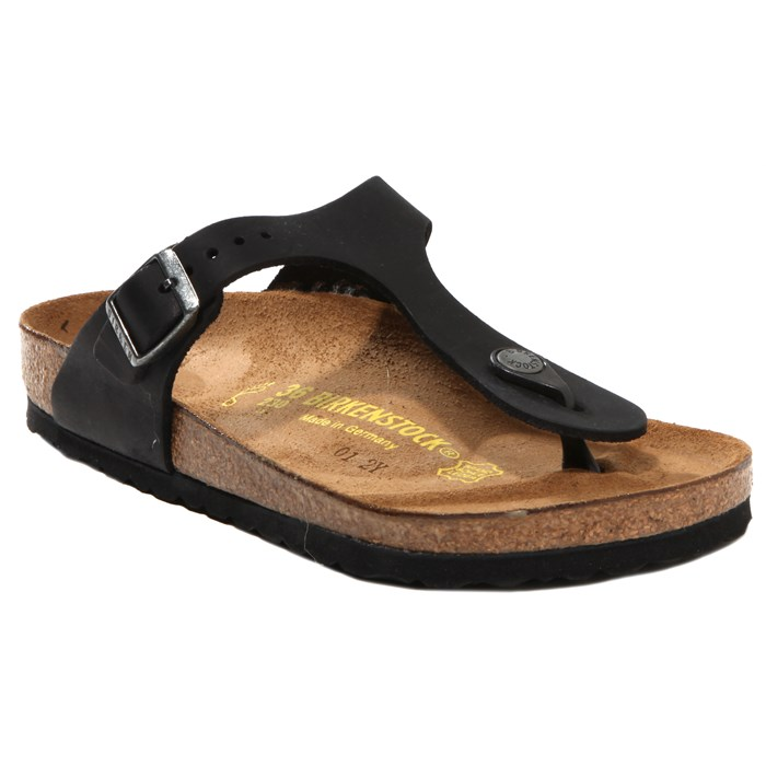 Birkenstock - Gizeh Oiled Leather Sandals - Women's