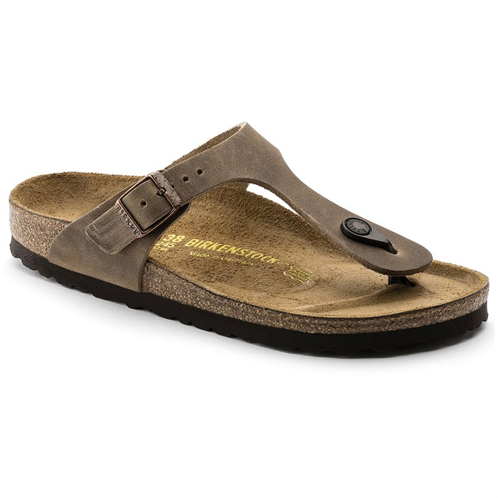 Birkenstock - Gizeh Oiled Leather Sandals - Women's