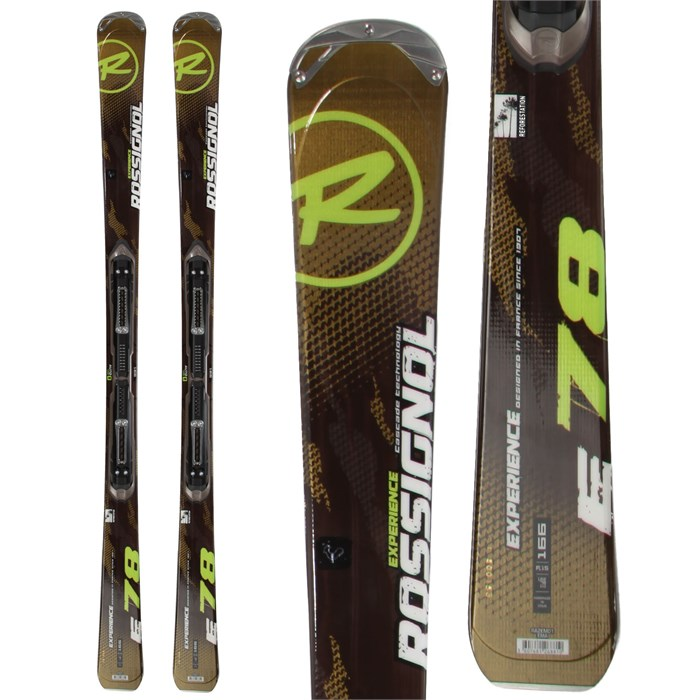 Rossignol - Experience 78 Skis + Axium 110 Bindings 2013