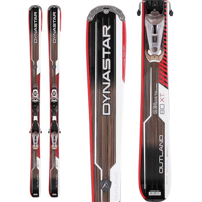 Dynastar - Outland 80 XT Skis + NX 12 Fluid Bindings 2013