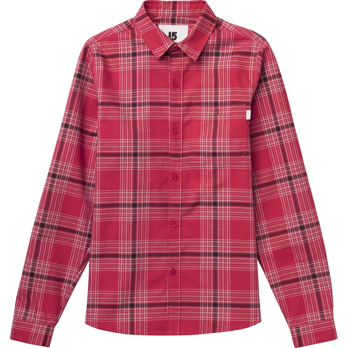 Burton - Splinter Button Down Flannel Shirt - Women's