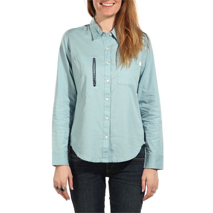 Burton - Eva Woven Button Down Shirt - Women's