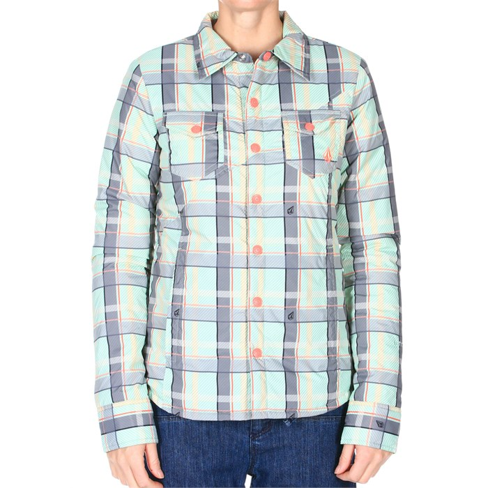 Volcom - Cast Button Up Insulated Jacket - Women's