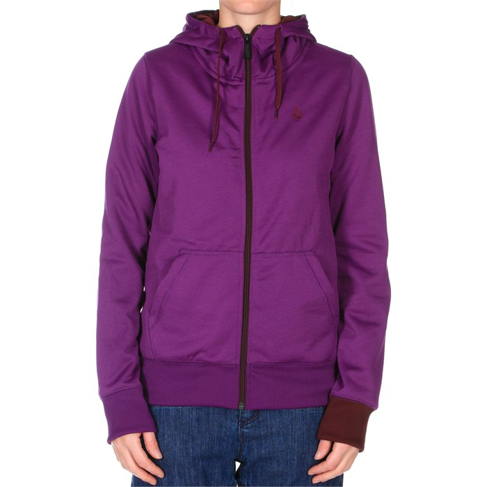 Volcom - Carpel Basic Full Zip Hoodie - Women's