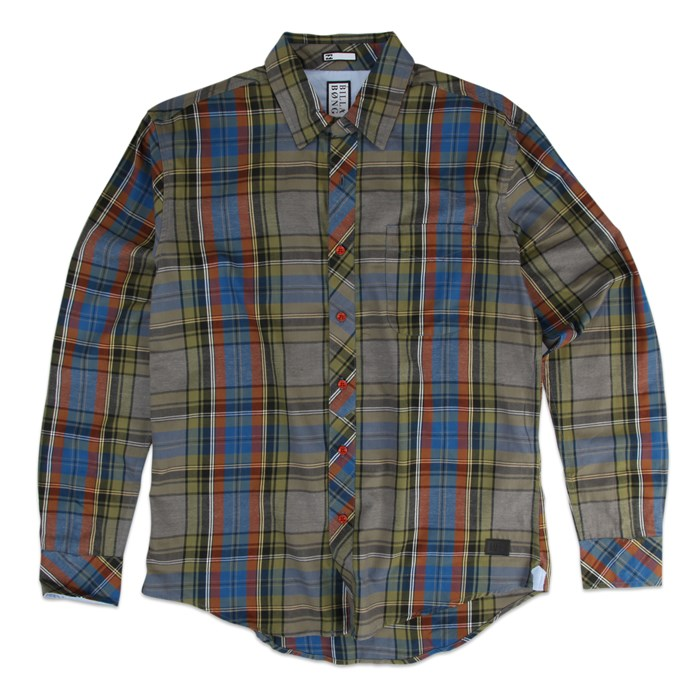 Billabong - Billabong Shefield Button-Down Flannel Shirt