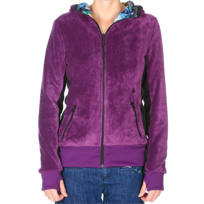 Volcom - Tilia Reversible Fur Full Zip Top - Women's