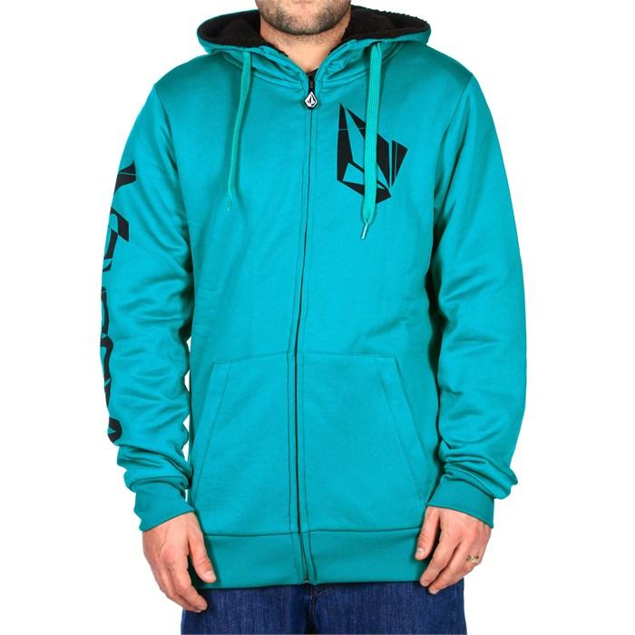Volcom - Logo Sherpa Lined Pullover Fleece