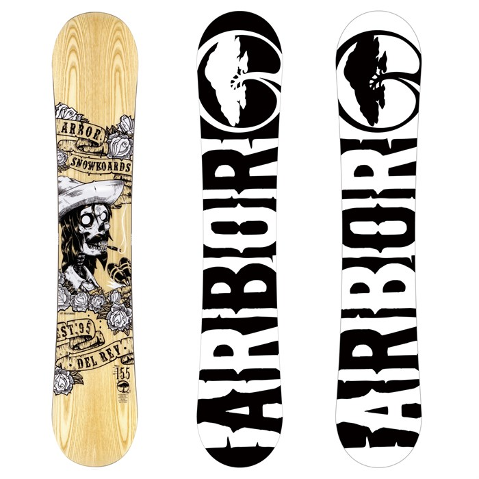 Arbor - Del Rey Snowboard 2013