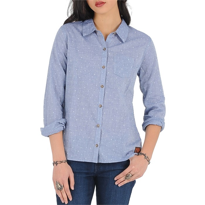 Volcom - Not So Classic VBJ Button Down Shirt - Women's