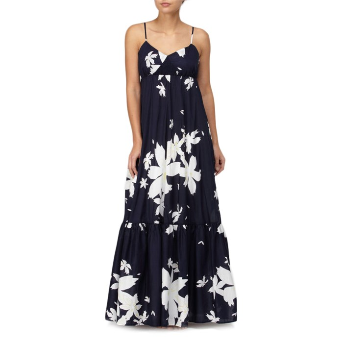 Quiksilver - Floral Pareo Maxi Dress - Women's