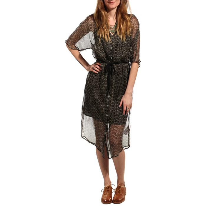 Quiksilver - Sheer Tunnels Dress - Women's