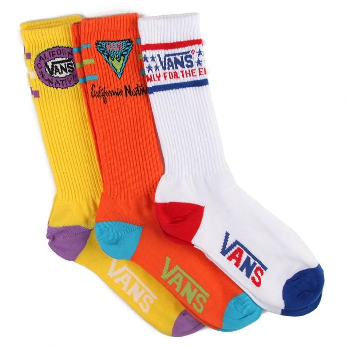 Vans - Belmont Crew Socks - 3 Pair Pack