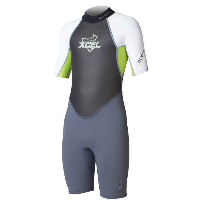 XCEL - SLX OS Offset Zip 2 mm Springsuit - Kid's