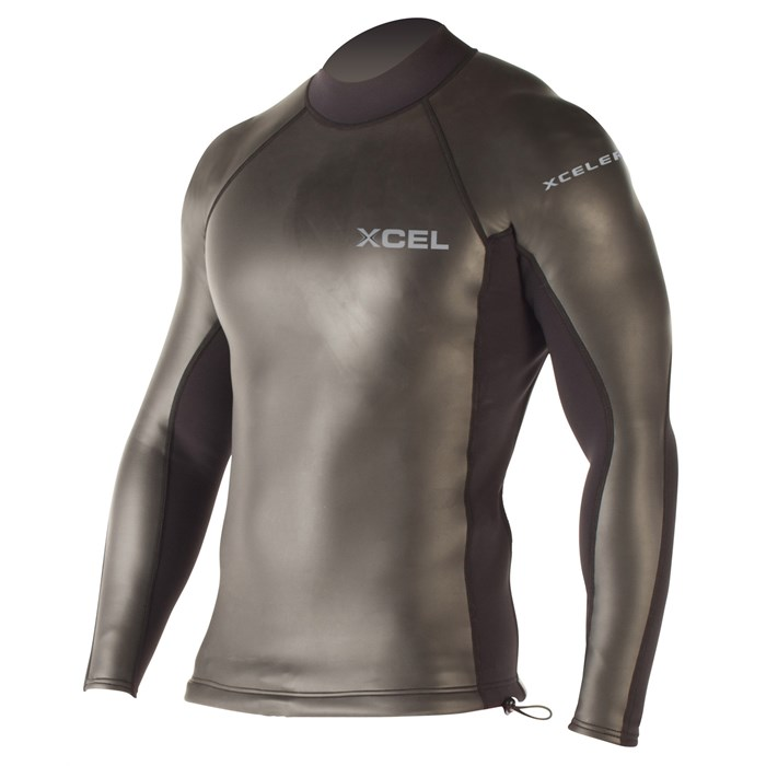 XCEL - Xcelerator Smoothskin Back Zip 2/1 Wetsuit Top