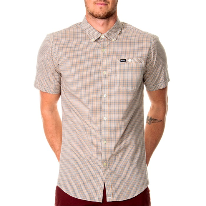 RVCA - United Short-Sleeve Button-Down Shirt