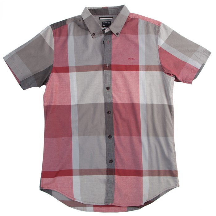 RVCA - Squared Up Short Sleeve Button Down Shirt