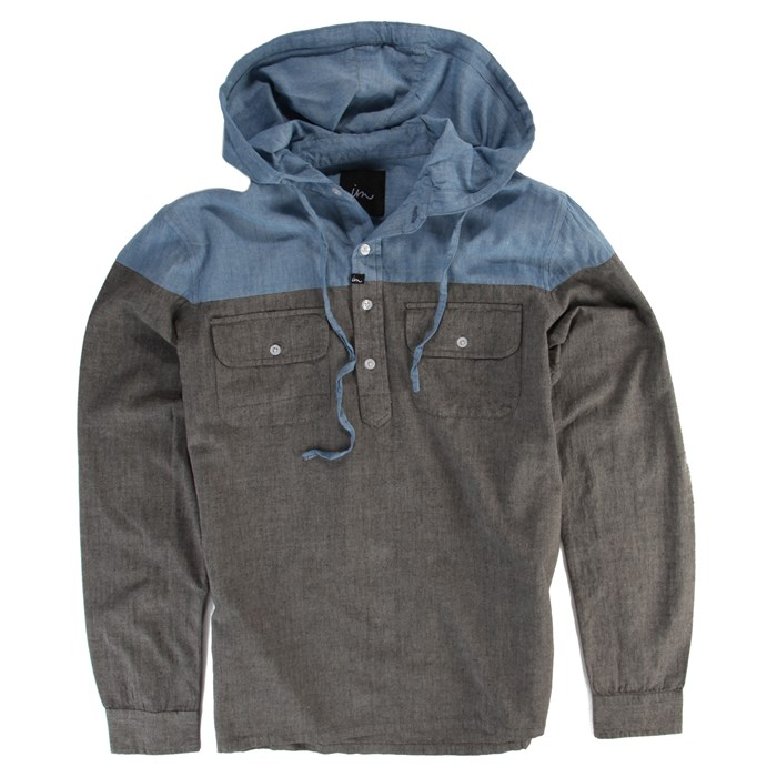 Imperial Motion - Harmony Hooded Henley Shirt