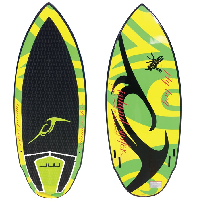 Inland Surfer - Inland Surfer Fly Boy Big Boy Pro Wakesurf Board 2013