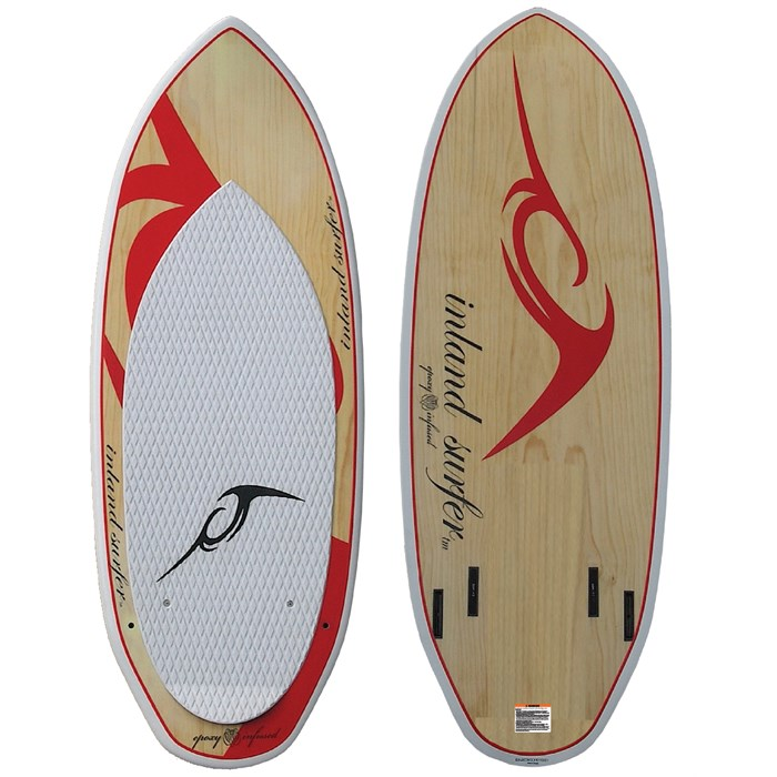 Inland Surfer - Red Rocket Wakesurf Board 2013