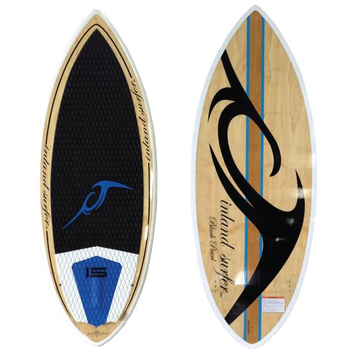 Inland Surfer - 4-Skim Black Pearl Wakesurf Board 2013