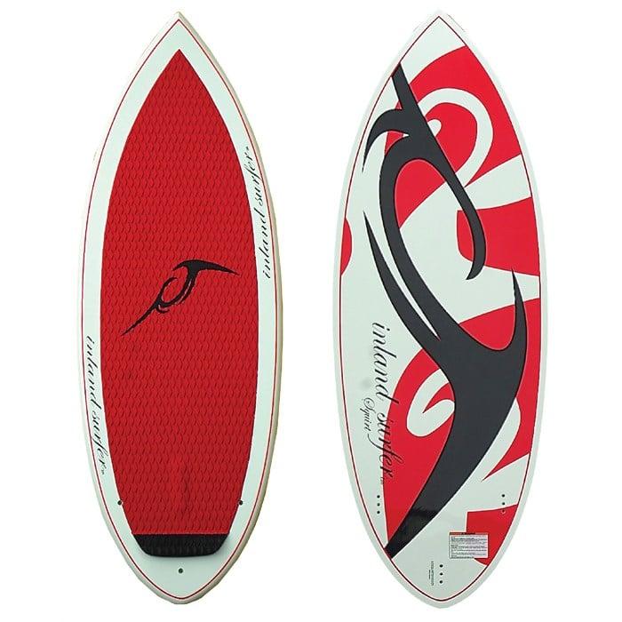 Inland Surfer - 4-Skim Squirt Wakesurf Board 2013