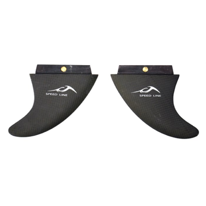 Inland Surfer - Carbon Tweeners 10 Speed Line Fins 2015